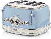 Ariete 0156/05 4snede(n) 1600W Blauw broodrooster