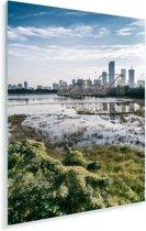 Uitzicht op Shenzhen Plexiglas 80x120 cm - Foto print op Glas (Plexiglas wanddecoratie)