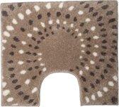 Floris Spray - WC mat - Zand - 60 x 60 cm