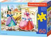 Cinderella puzzel 60 stukjes