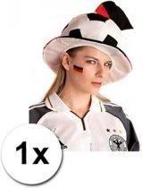 Landen vlag tattoo Duitsland