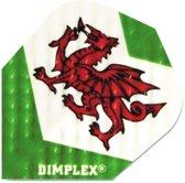 Harrows Darts Flight 4197 Dimplex Dragon