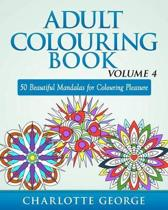 Adult Colouring Book - Volume 4