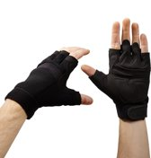 Lumaland - professionele fitnesshandschoenen - verkrijgbaar in verschillende maten - zwart - M