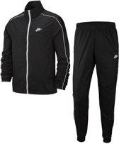 Nike Nsw Ce Trk Suit Wvn Basic Heren Trainingspak - Black/White/(White) - Maat L