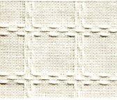 Beiersbont 2m lang x 160 cm 00 wit/wit