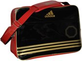 adidas Shiny - Sporttas - Zwart/Rood/Goud Large