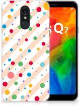 LG Q7 TPU bumper Dots