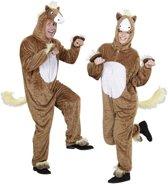 Paard Kostuum | Full-Body Pluche Paard | Volwassen | Medium / Large | Carnaval kostuum | Verkleedkleding