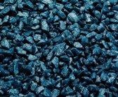 Aqua-Della Aquarium Glamour Steen Petrol Blauw 6-9 Mm 2Kg
