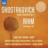 Shostakovich/Rihm: Violin Music