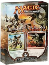 Magic the Gathering Duel Deck Knights vs Dragons