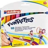 edding 14 Funtastics kinderviltstift 3 mm. Set van 10 kleuren.