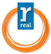 10m High-quality ABS 3D-pen Filament van Real Filament kleur oranje
