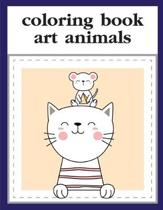 Coloring Book Art Animals: coloring pages, Christmas Book for kids and children