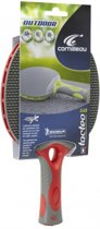 Tafeltennis bat Tacteo outdoor 50 - Rood