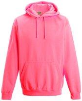 Electric hoodie, Kleur Electric Roze, Maat M