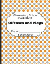 Elementary School Basketball Offenses and Plays Dates