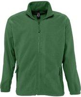 Fleece vest Sol's North - groen - 3XL