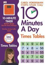 10 Minutes A Day Times Tables