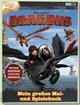 Dragons: Mein großes Mal- und Spielebuch