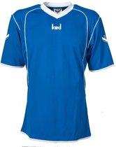 KWD Sportshirt Victoria korte mouw - Kobaltblauw/wit - Maat M