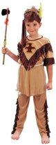 Voordelig indianen kostuum voor kinderen 120-130 (7-9 jaar)