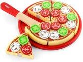 Viga Toys - Speelgoed Snijset - Pizza Vegetarisch