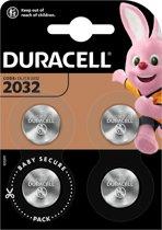 Duracell CR2032 Knoopcelbatterijen - 4 stuks