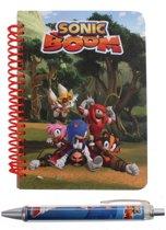 Gosh! Designs Notitieboekje Met Pen Sonic Boom Rood A6