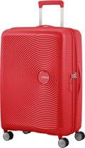 American Tourister Soundbox Spinner Spinner Reiskoffer (Medium) - 81 liter - Coral Red