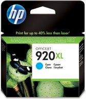 HP 920XL  - Inktcartridge / Cyaan (CD972AE)