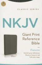 Giant Print Reference Bible-NKJV-Classic