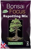 Bonsai Focus Repotting Mix -2 Liter van de beste aarde voor gezonde Bonsai