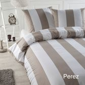 Papillon Perez - dekbedovertrek - tweepersoons - 200 x 200/220 - Zand