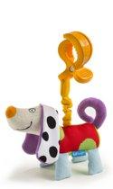 Taf Toys Activiteitenspeeltje met trekkoord Zachte hond met ophangring - 0 - 24 mnd