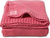 Jollein Deken 75x100cm Chunky knit raspberry