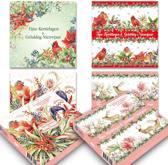 Set van 20 luxe Janneke Brinkman-kerstkaarten (set 1)