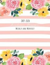 Academic Planner Weekly and Monthly 2019-2020