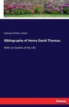 Bibliography of Henry David Thoreau