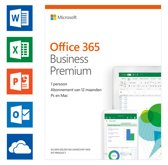 Microsoft Office 365 Business Premium - 1 jaar abo