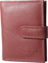 498f03aa781 RFID-Creditcardhouder- Pasjesmapje- ruimte voor briefgeld en kleingeld-Echt  Leer voor 26