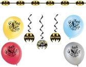 Batman themafeest versiering pakket