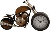 Tafelklok Vintage Motor Metal - 35cm
