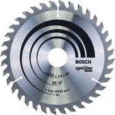 Bosch - Cirkelzaagblad Optiline Wood 180 x 30/20 x 2,6 mm, 36