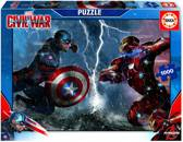 Captain America - Civil War - puzzel 1000 stukjes