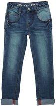 Minymo -  jongens jeans - Evan  slim - blauw - Maat 128