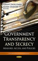 Government Transparency & Secrecy