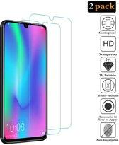 2Pack Huawei P smart 2019 Screenprotector Tempered Glass