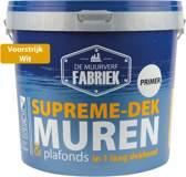 Muur Voorstrijk wit   Supreme-dek Primer   10 liter